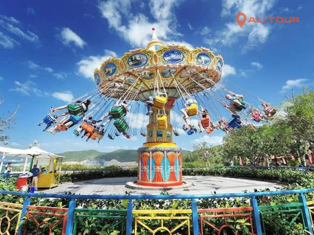 Nhiều trò chơi giải trí hấp dẫn tại Vinpearl Land Phú Quốc