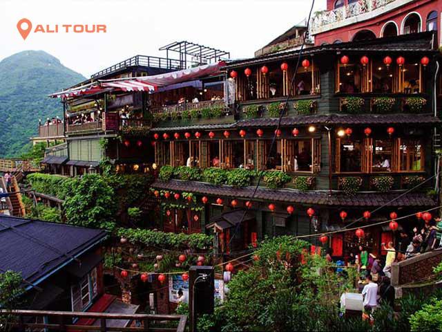 Tham quan làng cổ Cửu Phần - Đài Loan