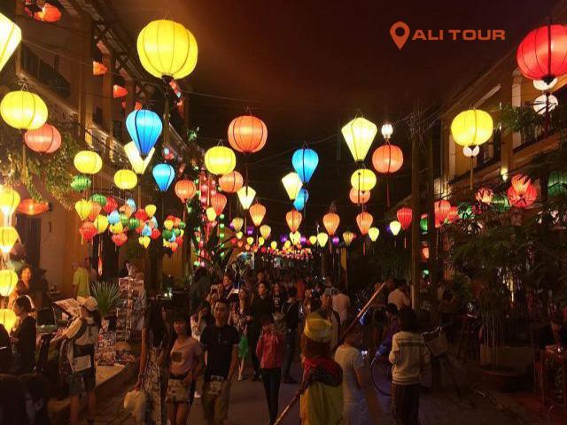 Lễ hội đèn tại Hội An